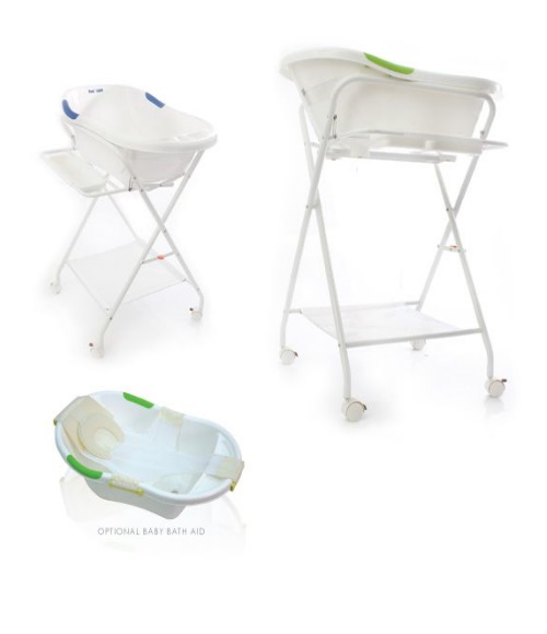 Baby Equipment Hire - Baby Bath on Stand
